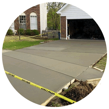 Quality Concrete Driveway to add curb appeal to your home
