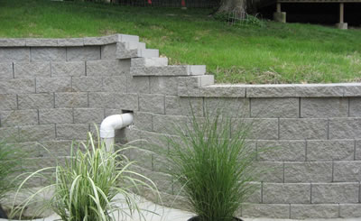 Retaining Walls in Ballwin 63021