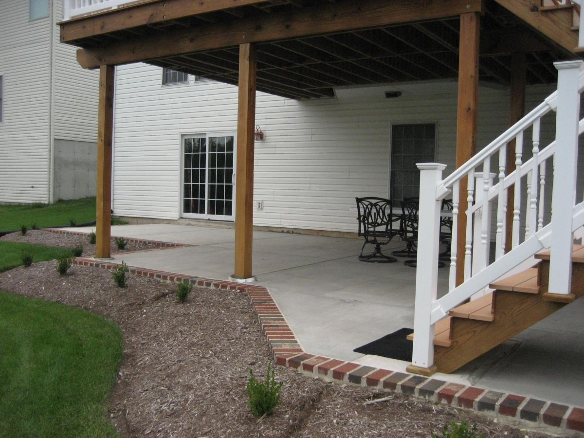 Midwest Concrete Patio 0708