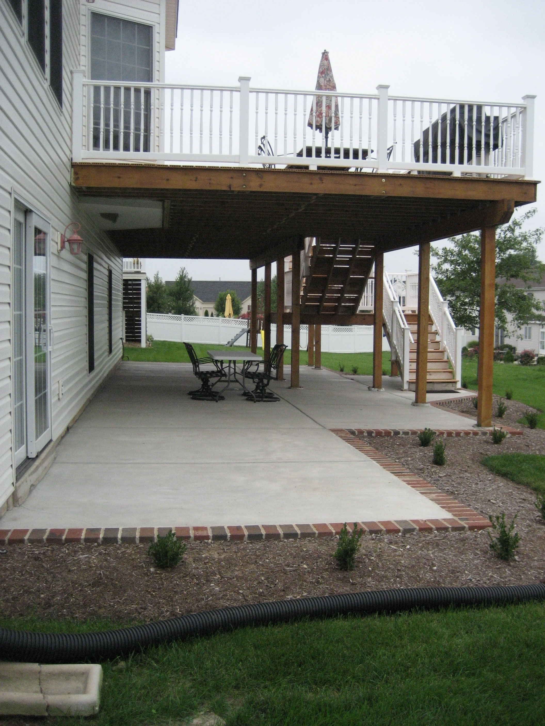 Midwest Concrete Patio 0709
