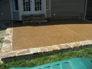 Midwest Concrete Patio 0123