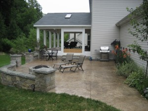 Midwest Concrete Patio 0186