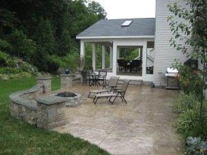 Midwest Concrete Patio 0196