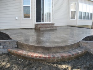 Midwest Concrete Patio 0203
