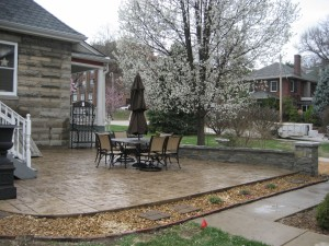 Midwest Concrete Patio 0313