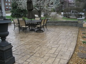 Midwest Concrete Patio 0315