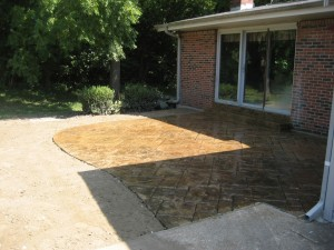 Midwest Concrete Patio 0425