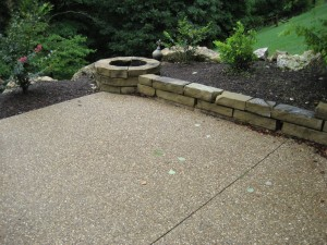 Midwest Concrete Patio 0679