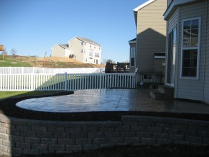 Midwest Concrete retaining wall 0201