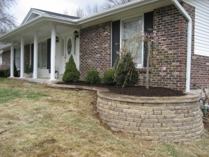 Midwest Concrete retaining wall 0650