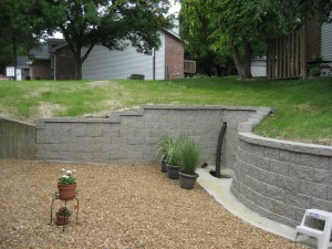 Midwest Concrete retaining wall 0695