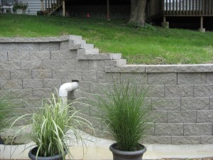 Midwest Concrete retaining wall 0696